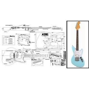 Picture of Fender Jagstang Blueprint