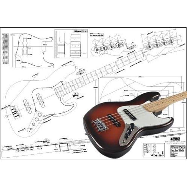 Picture of Fender Jazzbass Blueprint 4-string