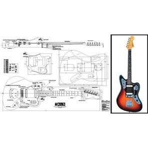 Afbeelding van Fender Jaguar Bouwtekening