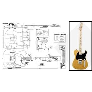 Picture of Fender Telecaster Bouwtekening