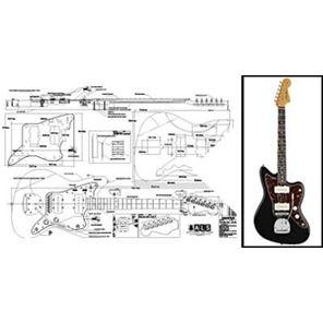 Afbeelding van Fender Jazzmaster Bouwtekening