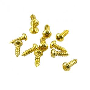 Picture of Trussrod Cover Screw Gold