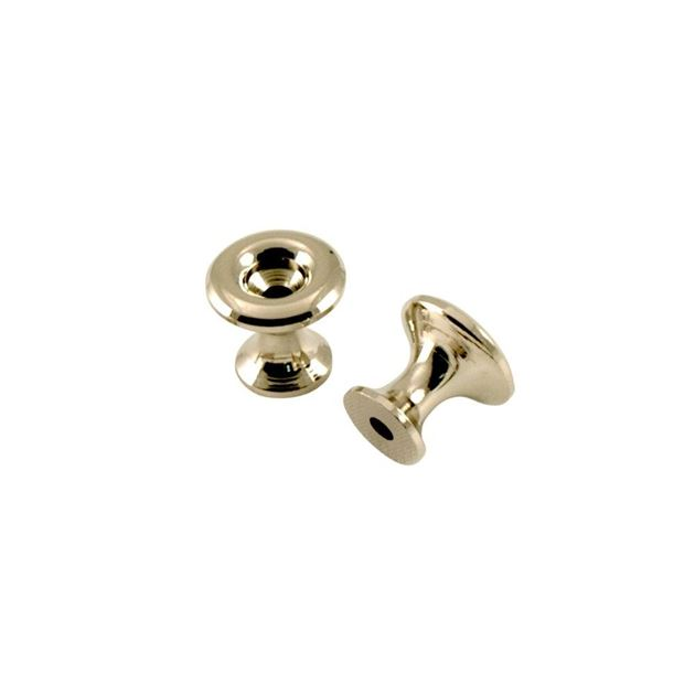 Picture of Kluson California Custom Strap Buttons - Nickel - Set of 2