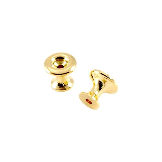 Picture of Kluson California Custom Strap Buttons - Gold - Set of 2